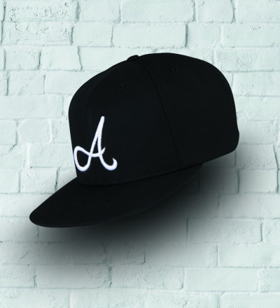black snapback