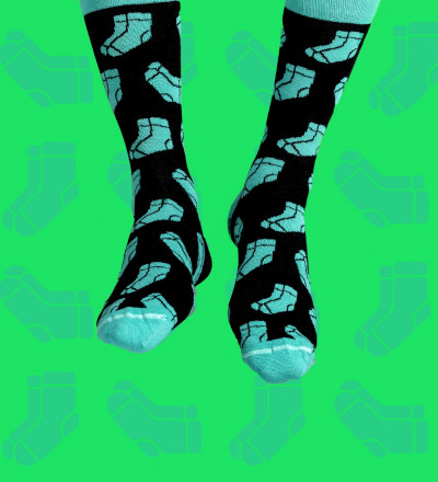socks with socks motive