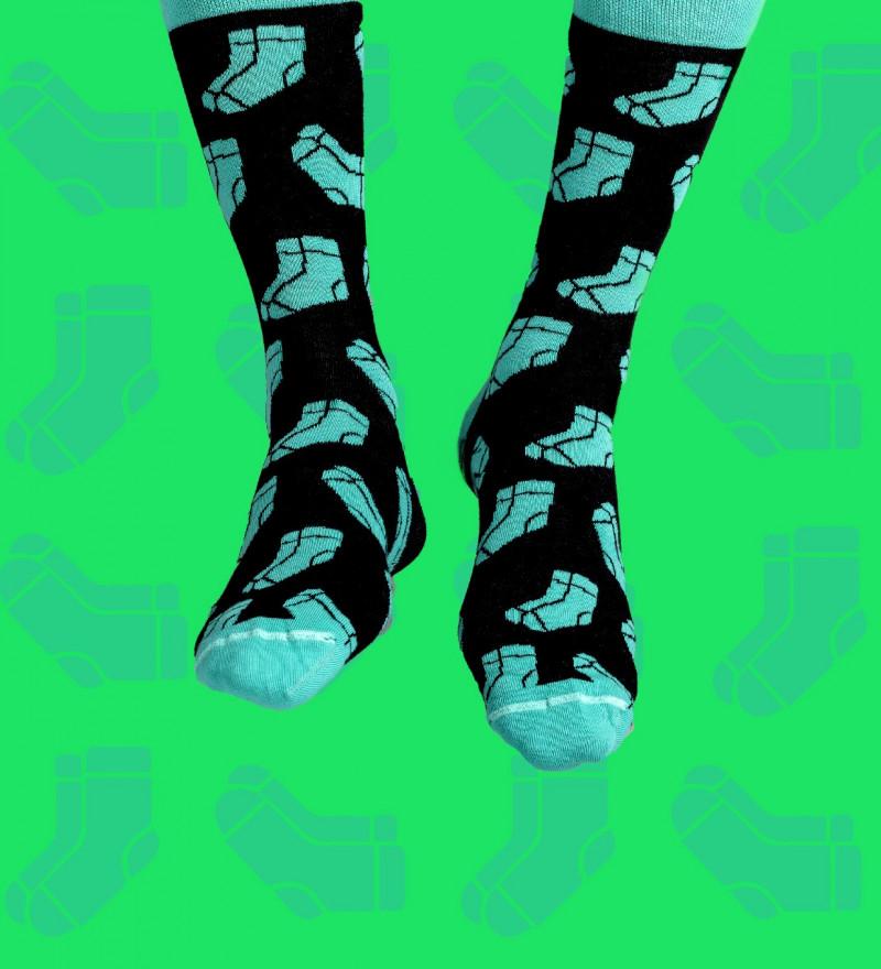 socks with socks motive