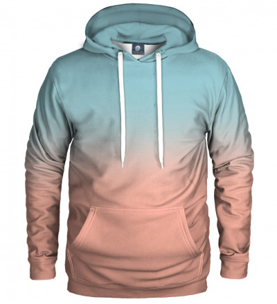 hoodie with ombre motive
