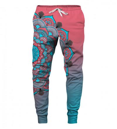 spodnie z motywem mandali