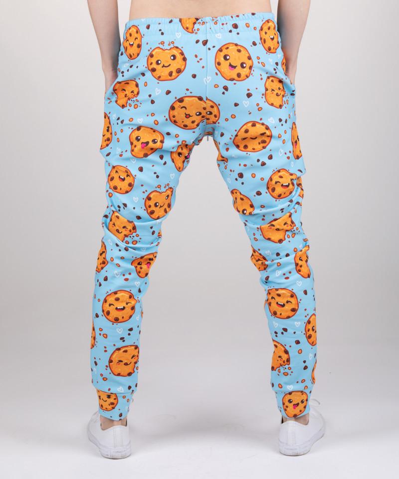 sweatpants with cookies motive