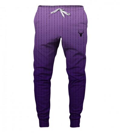 purple fk you sweatpants