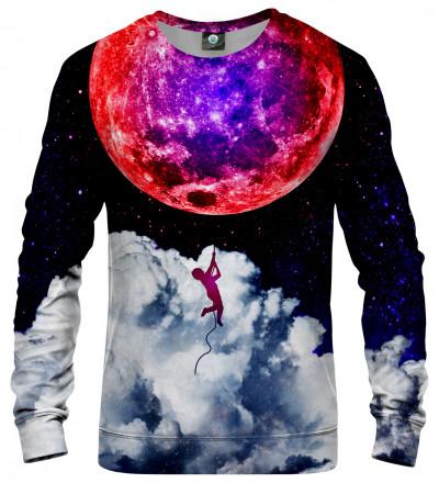 sweatshirt with moon motive