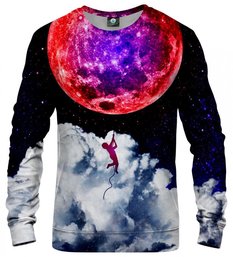 bluza z motywem księżyca