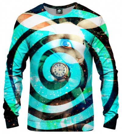 bluza z motywem hipnotyzującym