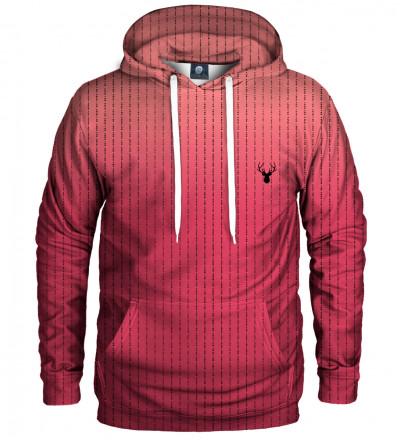 pink fk you hoodie