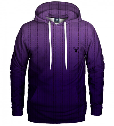 purple fk you hoodie