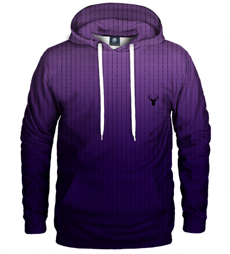 purple fk you hoodie