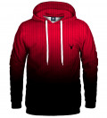 red fk you hoodie