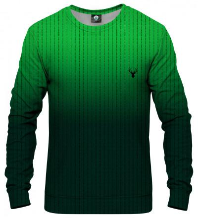 zielona bluza z napisami fk you