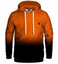 Orange ANTI SOCIAL Hoodie