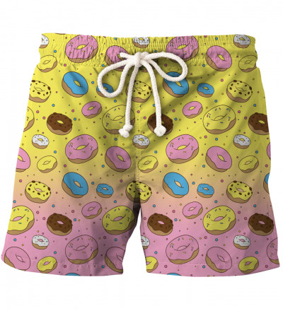 shorts with donuts motive
