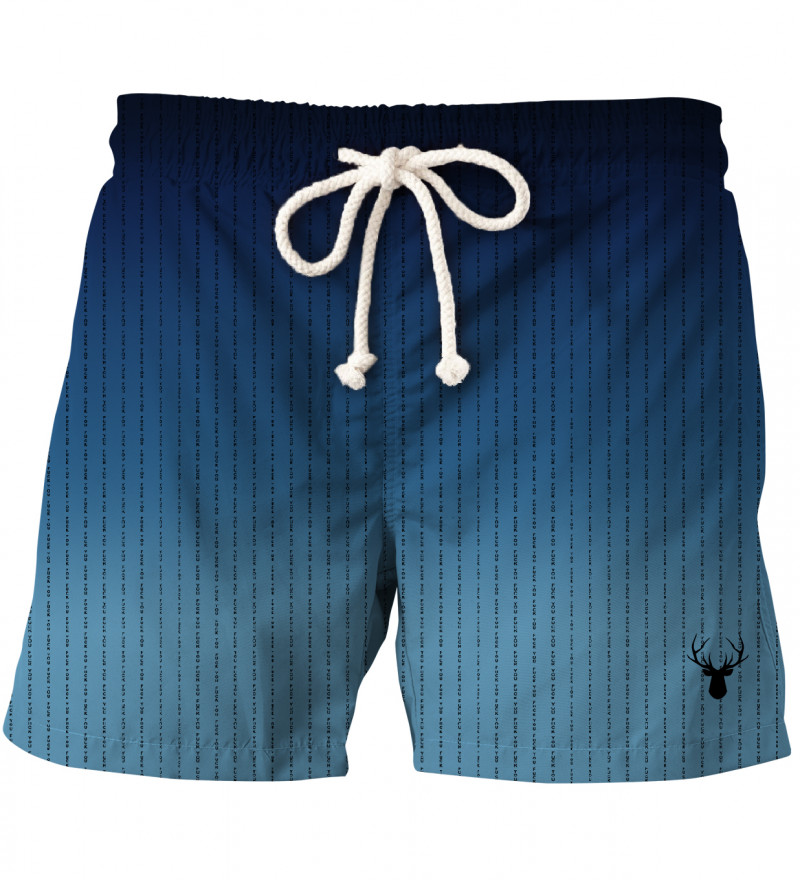 shorts with fk you inscriptions