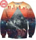 sweatshirt with city motive
