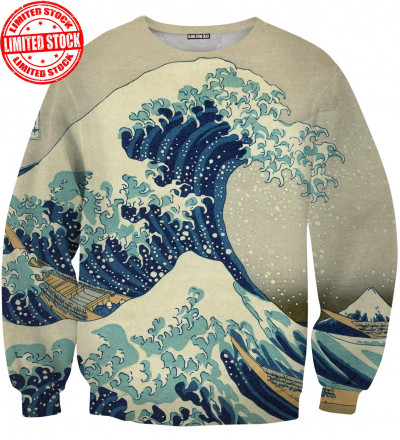 sweater with art motive