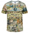 Your garden T-shirt, by Hieronim Bosch