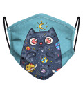 Space Cat Face Mask