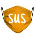 Orange Sus Face Mask