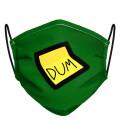 Green Dum Dum Face Mask