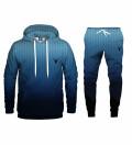 Bluza z kapturem i spodnie Fk you ultra blue