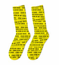 Crime Scene Socks