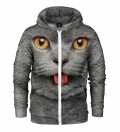 Bluza z zamkiem British cat