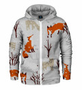 What does the fox say? Zip Up Hoodie