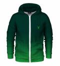 Fk You Green Zip Up Hoodie