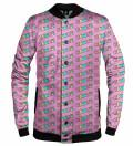 Kawaii Pink baseball jacket