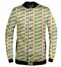 Kawaii Yellow baseball jacket
