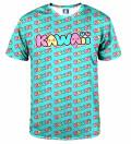 T-shirt Kawaii Teal