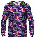 Colorful Cranes Sweatshirt