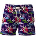Colorful Cranes shorts