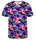 Colorful Cranes T-shirt