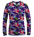 Colorful Cranes women sweatshirt