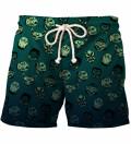 Kabuki Mask Drowned shorts