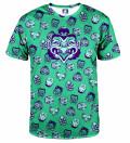 T-shirt Kabuki Mask Green