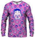 Kabuki Mask Pink Sweatshirt