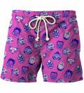 Kabuki Mask Pink shorts