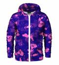 Tokyo Oni Purple Zip Up Hoodie