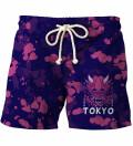 Tokyo Oni Purple shorts