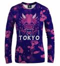 Tokyo Oni Purple women sweatshirt