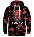Bluza z kapturem Tokyo Oni Red