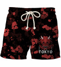 Tokyo Oni Red shorts