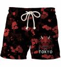 Szorty kąpielowe Tokyo Oni Red