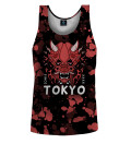 Tokyo Oni Red Tank Top