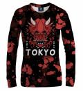 Tokyo Oni Red women sweatshirt