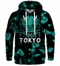 Tokyo Oni Teal Hoodie