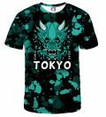 Tokyo Oni Teal T-shirt